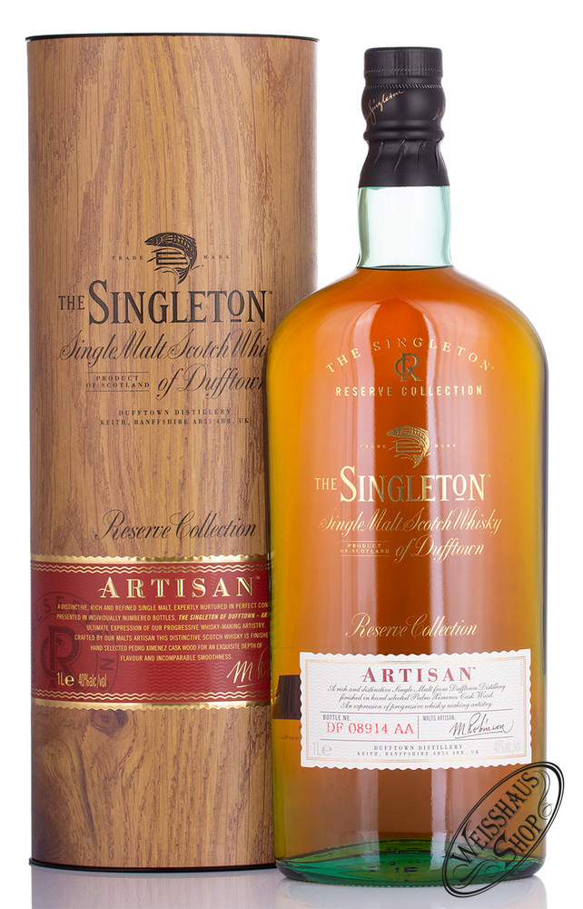 Singleton of Dufftown Artisan Whisky 40% vol. 1,0l