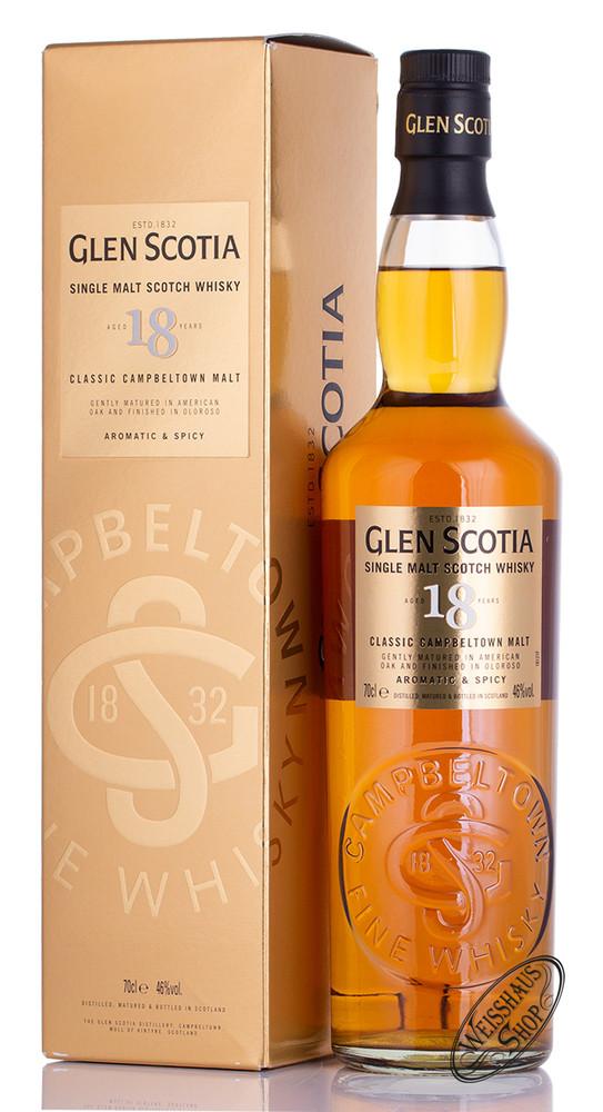 Glen Scotia 18 YO Single Malt Whisky 46% Vol. 0,70l
