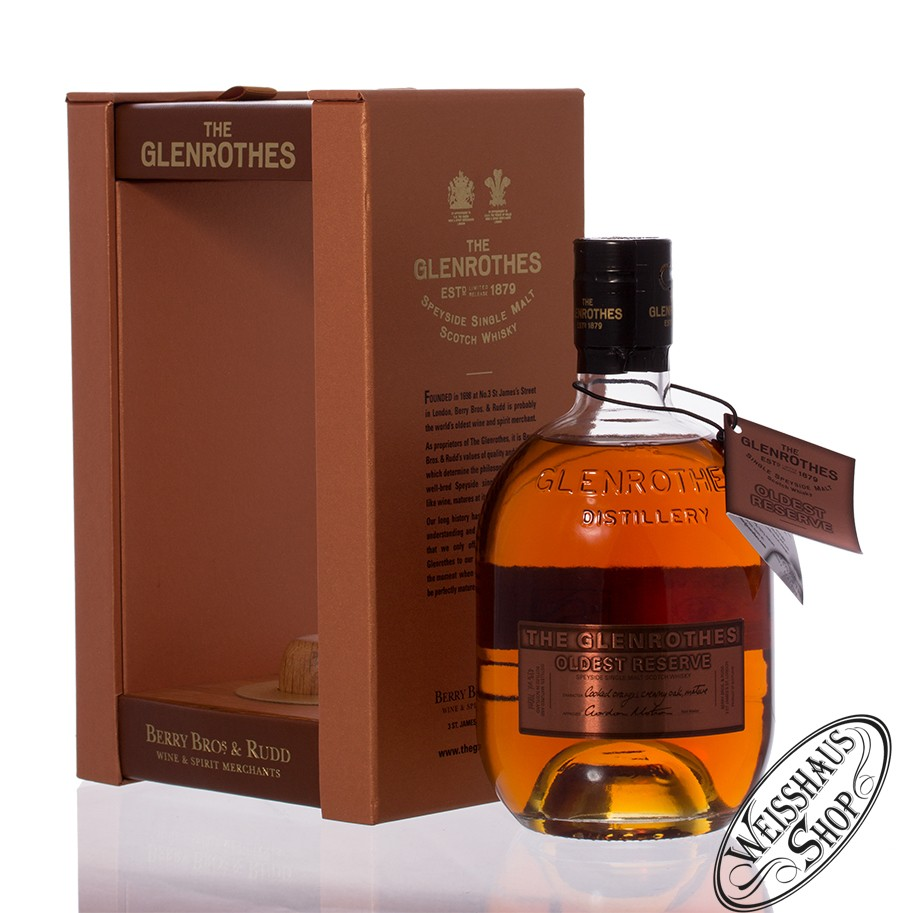 The Glenrothes Oldest Reserve Whisky 43% vol. 0,70l