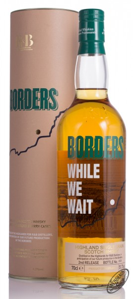 Borders While We Wait 2nd Release Whisky 51,7% vol. 0,70l