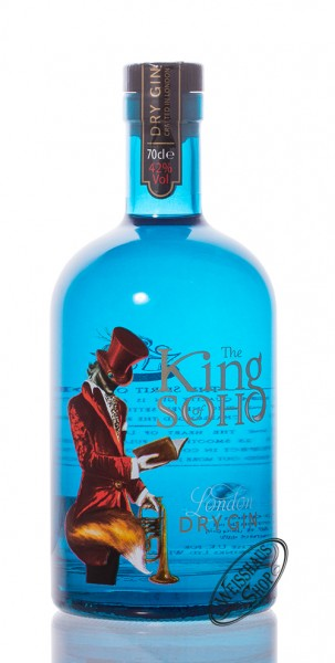 King of Soho London Dry Gin 42% vol. 0,70l