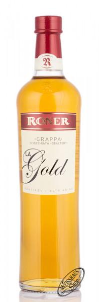 Roner Grappa La Gold 40% vol. 0,70l