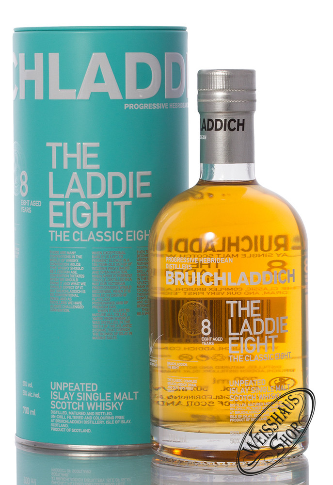 Bruichladdich The Laddie Eight Edition Whisky 50% vol. 0,70l