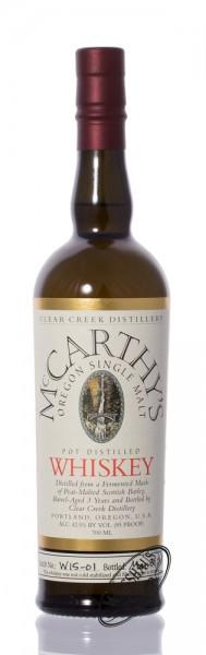 McCarthy 3 YO Oregon Single Malt Whisky 42,5% vol. 0,70l