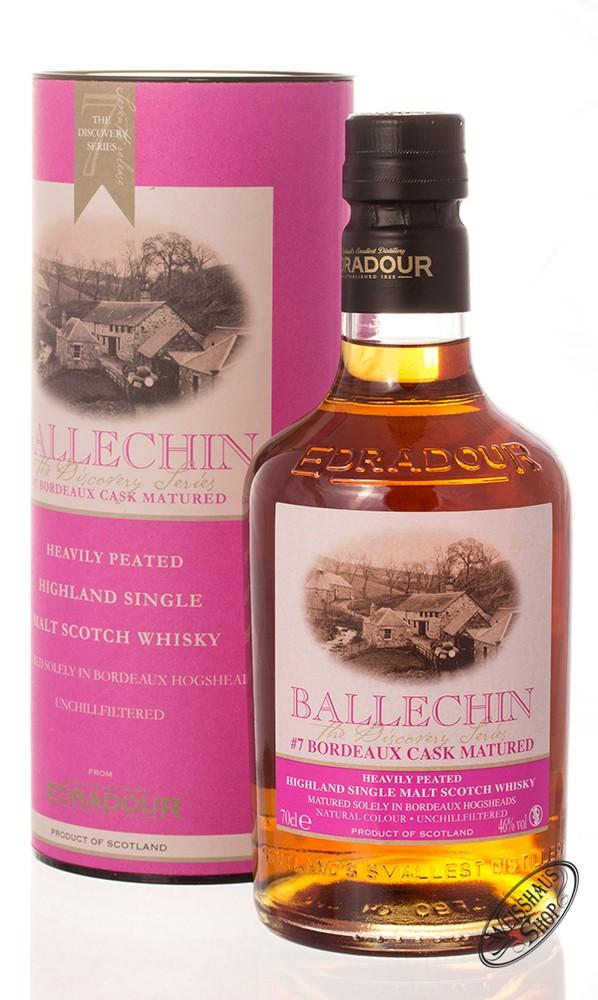 Edradour Ballechin #7 Bordeaux Cask Matured Whisky 46% vol. 0,70l
