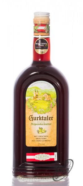 Gurktaler Alpenkräuter 27% vol. 1,0l