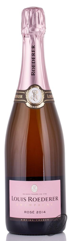 Louis Roederer Brut Ros� Champagner 12% vol. 0,75l