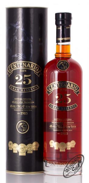 Ron Centenario Gran Reserva 25 YO Rum 40% vol. 0,70l