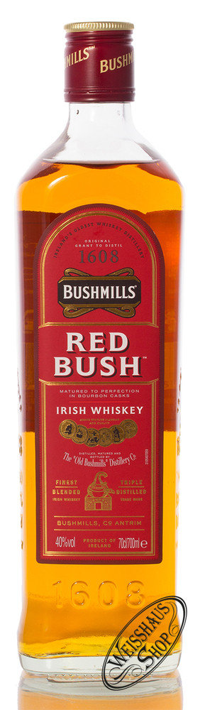 Bushmills Red Bush Irish Whiskey 40% vol. 0,70l