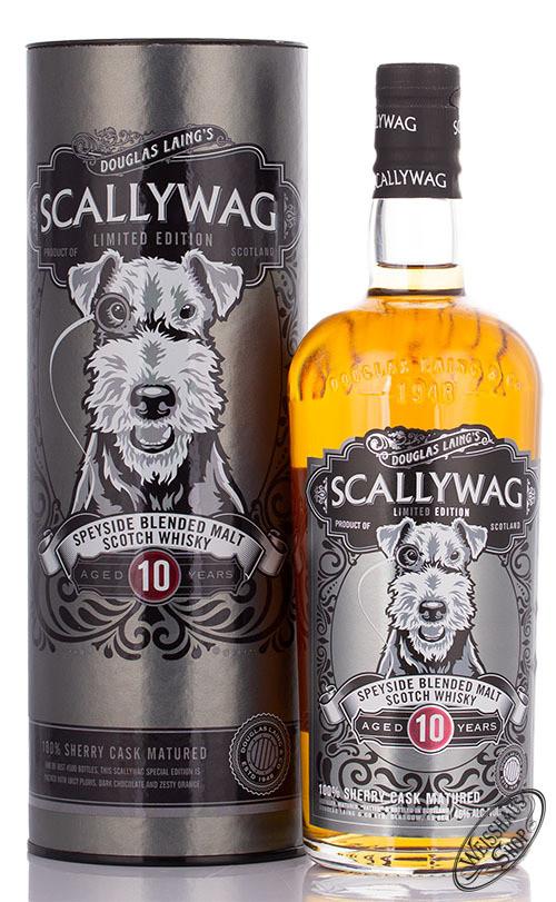Scallywag Speyside 10 YO Douglas Laing Blended Whisky 46% vol. 0,70l