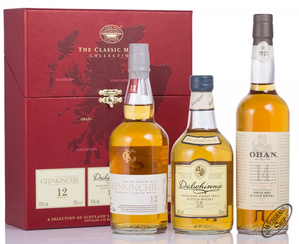 The Classic Malts Collection gentle 3 x 0,20l