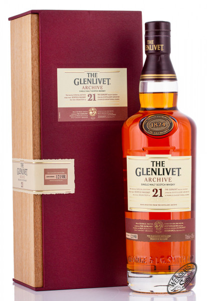The Glenlivet 21 YO Archive Whisky 43% vol. 0,70l