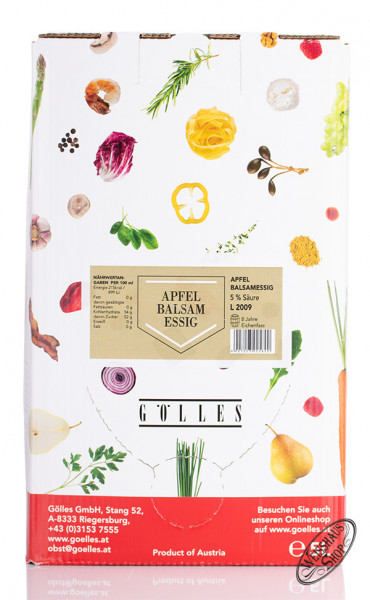 Gölles Apfel Balsam Essig 5,0l Bag in Box