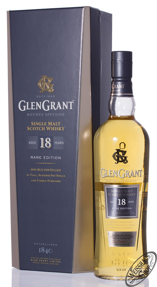 Glen Grant 18 YO Whisky 43% vol. 0,70l