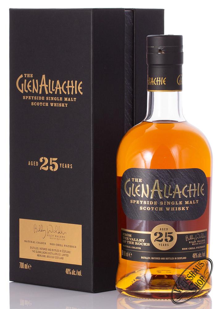 Glenallachie Distillers Co. Limited Glenallachie 25 YO Single Malt Whisky 48% vol. 0,70l