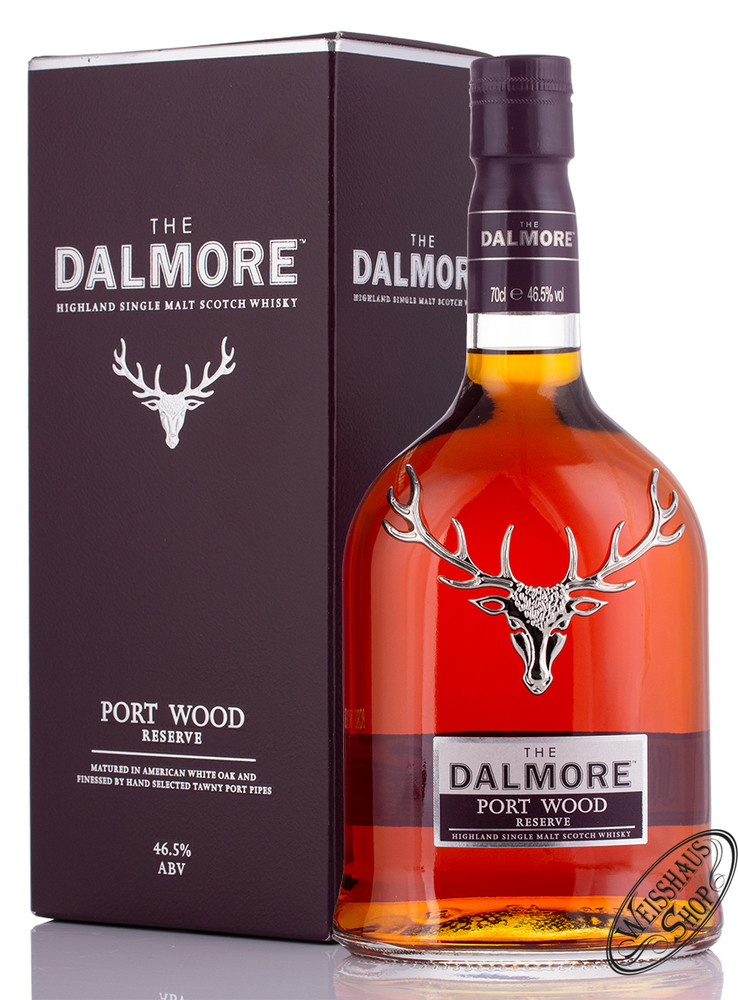 The Dalmore Port Wood Reserve Whisky 46,5% vol. 0,70l
