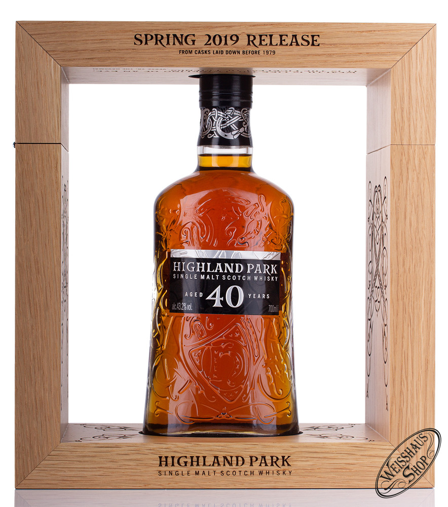 Highland Park 40 YO Whisky 43,2% vol. 0,70l