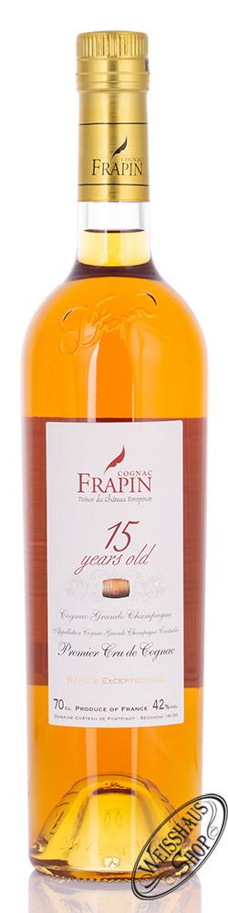Frapin Grande Champagne 15 YO Cognac 42% vol. 0,70l