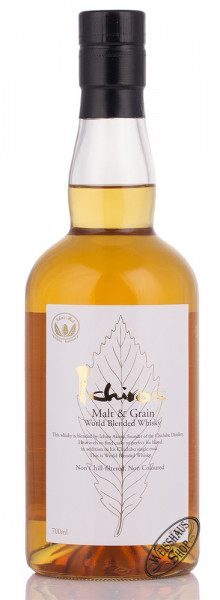 Chichibu Ichiro Malt & Grain Blended Whisky 46% vol. 0,70l