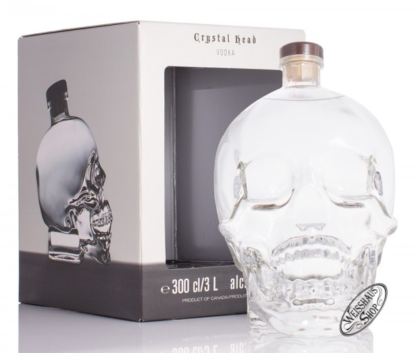 Crystal Head Vodka 40% vol. 3,0l