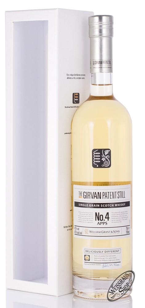 William Grant & Sons The Girvan Patent Still No.4 Single Grain Whisky 42% vol. 0,70l