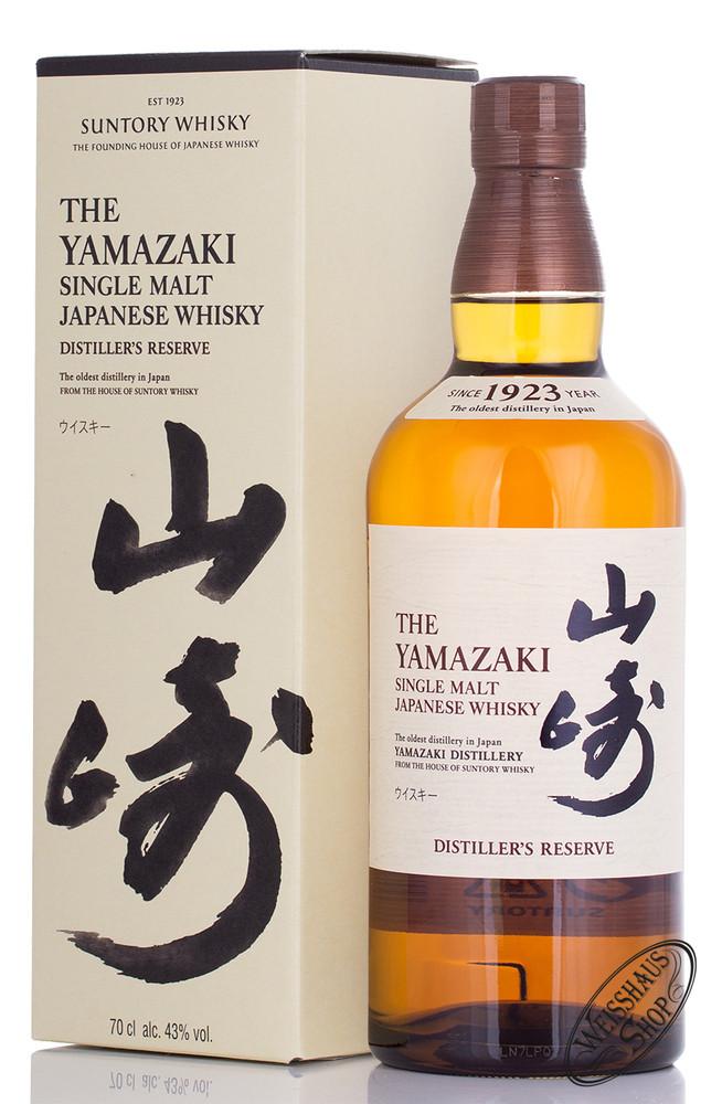 Yamazaki Distiller's Reserve Single Malt Whisky 43% vol. 0,70l