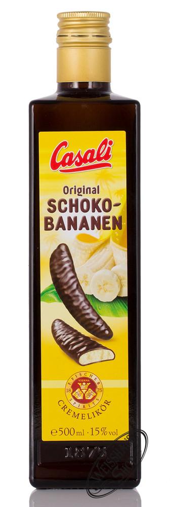 Alt Wiener Schnapsmuseum Casali Schoko-Bananen Cremelik�r 15% vol. 0,50l