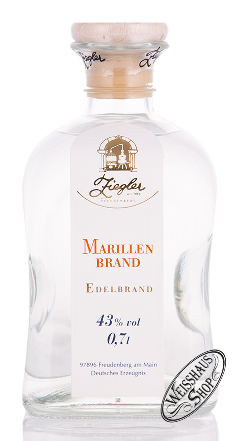 Brennerei Ziegler Ziegler Marillen Brand 43% vol. 0,70l