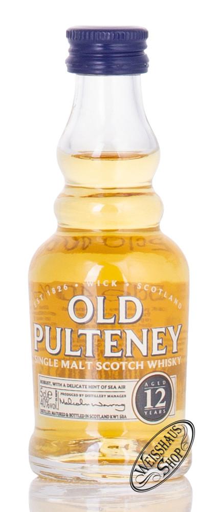 Old Pulteney 12 YO Whisky Miniatur 40% vol. 0,05l