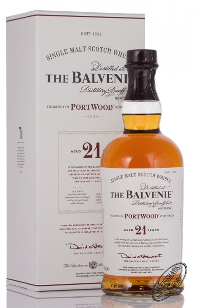 The Balvenie 21 YO Port Wood Whisky 40% vol. 0,70l