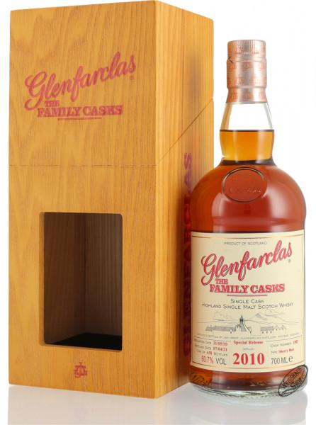 Glenfarclas Vintage 2010 Family Casks Whisky 60,7% vol. 0,70l