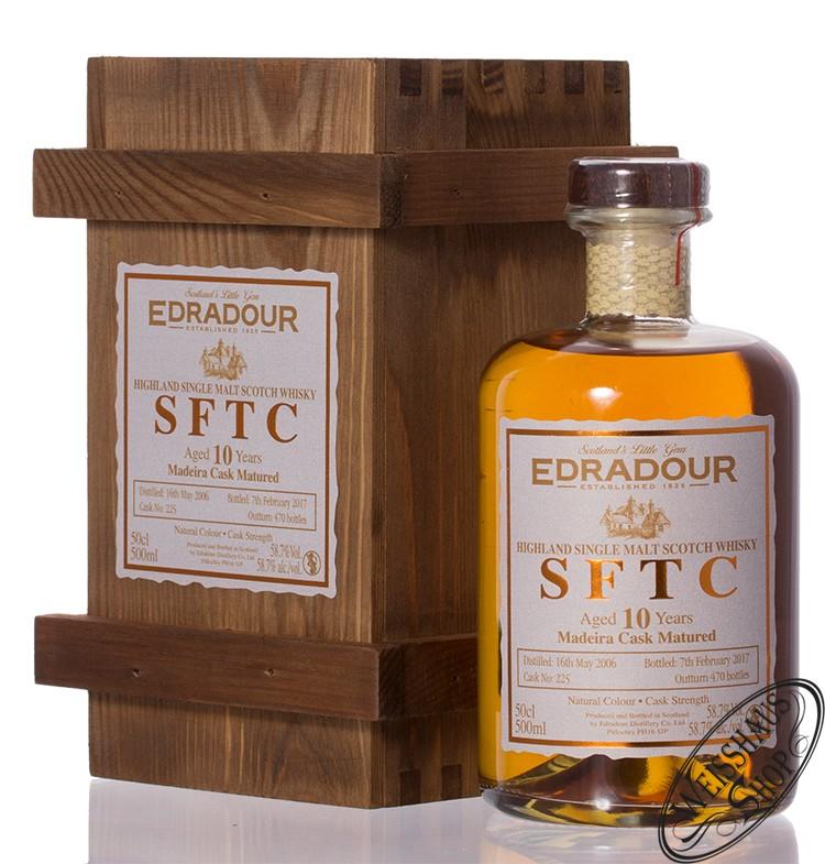 Edradour 2006 SFTC Madeira Cask Whisky 58,7% vol. 0,50l
