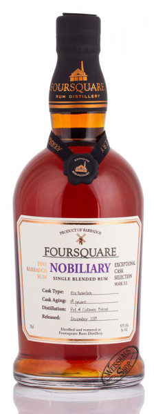 Foursquare Nobiliary 14 YO Mark XII 62% vol. 0,70l