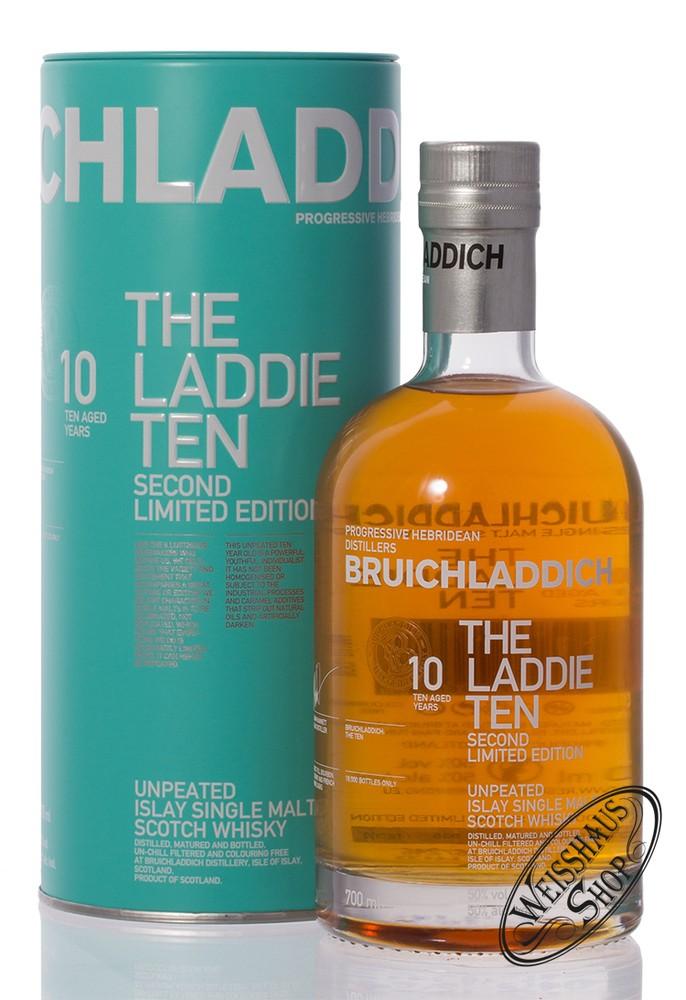 Bruichladdich The Laddie Ten 2nd Edition Islay Whisky 50% vol. 0,70l