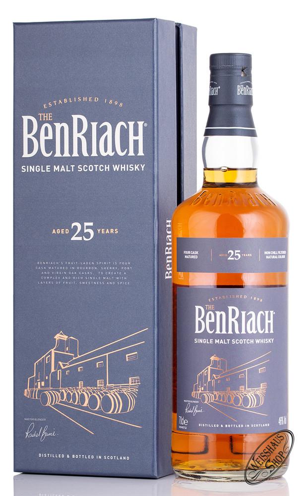 BenRiach 25 YO Single Malt Whisky 46% vol. 0,70l