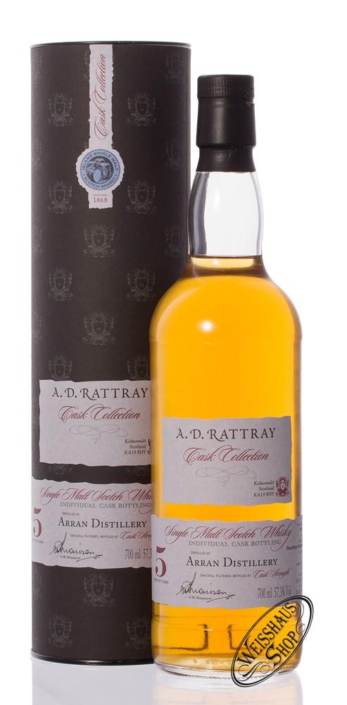 The Arran 5 YO A.D. Rattray Whisky 57,3% vol. 0,70l