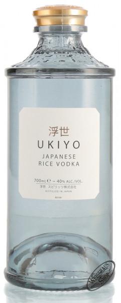 Ukiyo Japanese Rice Vodka 40% vol. 0,70l