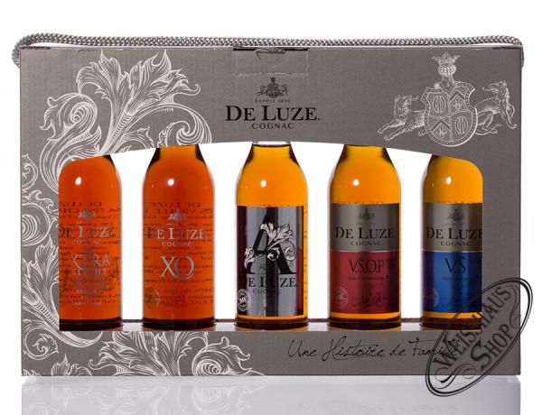 De Luze Cognac Multipack 5 x 0,20l 40% vol. 1,0l