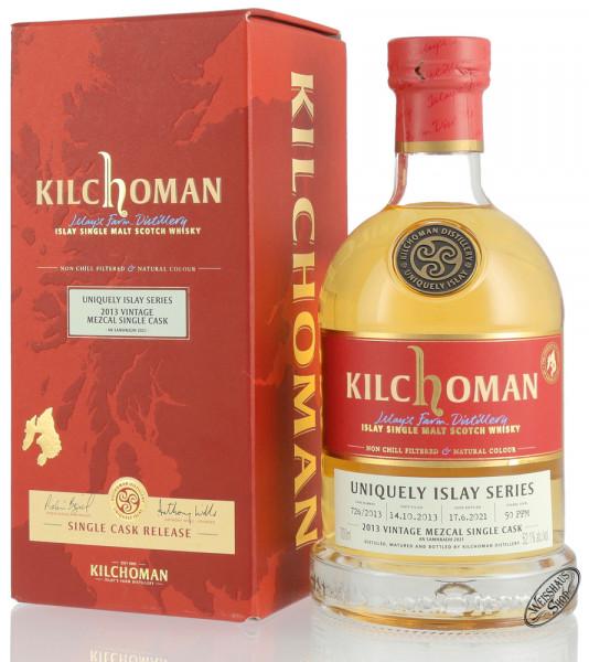 Kilchoman Vintage 2013 Mezcal Cask Islay Whisky 52,1% vol. 0,70l