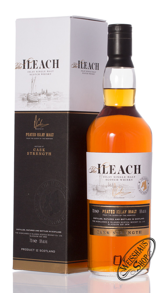 The Ileach Cask Strength Islay Whisky 58% vol. 0,70l
