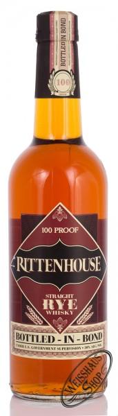 Rittenhouse 100 Proof Rye Whiskey 50% vol. 0,70l