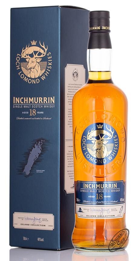 Loch Lomond Inchmurrin 18 YO Single Malt Whisky 46% vol. 0,70l