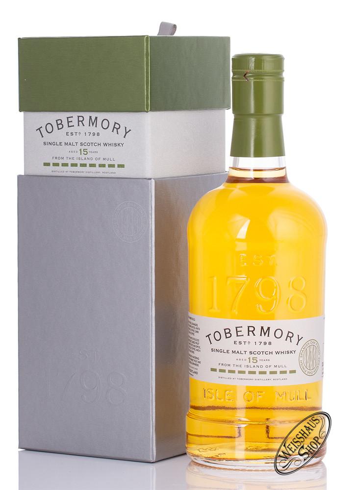 Tobermory 15 YO Spanish Oak Finish Whisky 46,3% vol. 0,70l