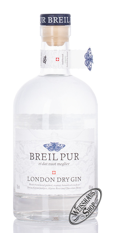 Breil Pur London Dry Gin 45% vol. 0,70l