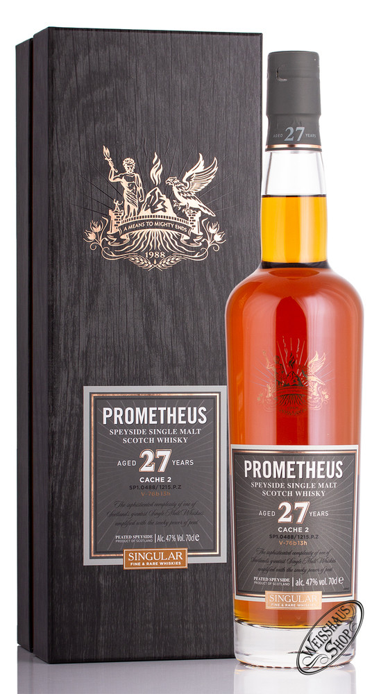 Glasgow Distillery Co. Prometheus 27 YO Whisky 47% vol. 0,70l