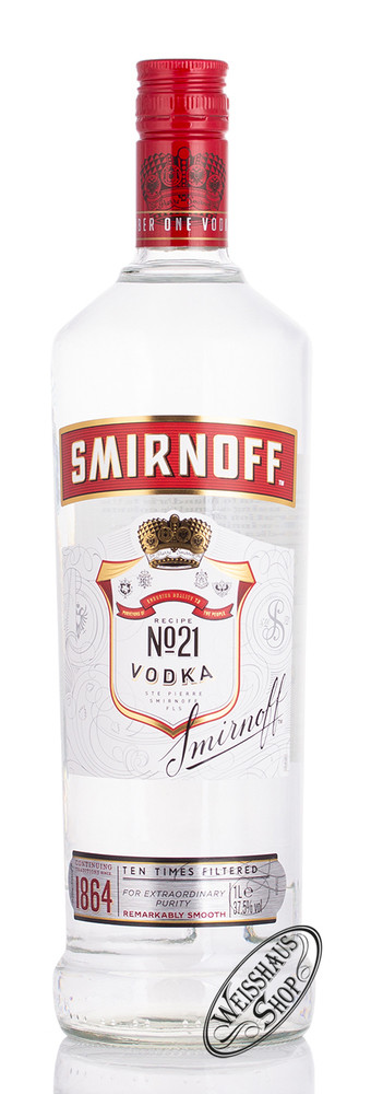 Smirnoff Vodka Red 37,5% vol. 1,0l