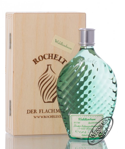 Rochelt Waldhimbeere 52% vol. 0,10l Flachmann