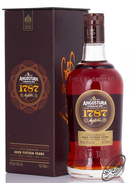Angostura 1787 Caribbean Rum 40% vol. 0,70l