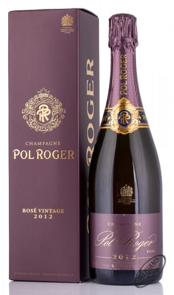Pol Roger Rosé Vintage 2012 Champagner 12,5% vol. 0,75l