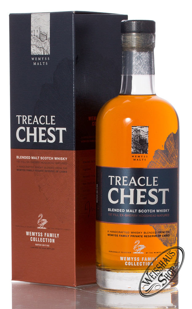 Wemyss Family Collection Treacle Chest 46% vol. 0,70l